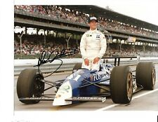 USAC Indy Car Racing Photograph Autographed by the late John Andretti