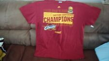 NBA CLEVELAND CAVALIERS TSHIRT MAJESTIC 2015 EAST CONFERENCE CHAMPIONS SZ.XL
