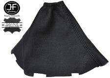 BLACK STITCH MANUAL LEATHER GEAR STICK GAITER FOR TOYOTA COROLLA VERSO 04-08