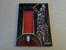 2014-15 PANINI NOIR JOSH SMITH GAME USED CHINESE NEW YEAR JERSEY #ED /99