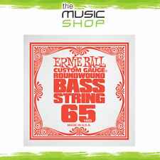 New Ernie Ball 0.065 Gauge Nickel Wound Single Bass Guitar String - 1665