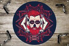Salon de coiffure signal métallique décoration Signe murale plaques 1031