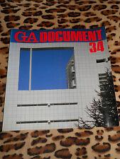 REVUE GA DOCUMENT - n° 34 - Global Architecture