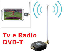 Ls Ricevitore Tv Radio Dvb-T Digitale Terrestre per Smart Phone e Tablet Android