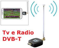 Ls Ricevitore Tv Radio Dvb-T Digitale Terrestre per Smart Phone e Tablet Android