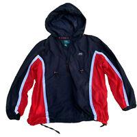 LAUREN Ralph Lauren Women's COLORBLOCK Windbreaker Zip Hoodie Jacket S