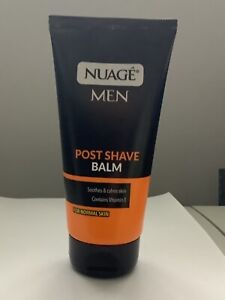 Nuage Men Post Shave Balm With Vitamin E Soothes & Calms Skin After Shaving