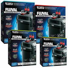 FLUVAL 107 207 307 407 FX4 FX6 EXTERNAL CANNISTER FILTER INC MEDIA FISH TANK