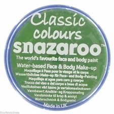 Snazaroo 18 Ml Hierba Verde cara y cuerpo de Pintura Maquillaje Monster Bruja