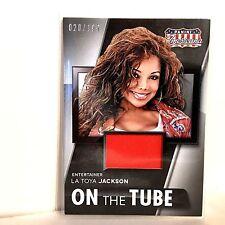 Latoya Jackson 2015 Panini Americana 020/199 Material On The Tube FREE SHIP