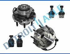 New 6pc Front Wheel Hub & Bearing Kit - DRW Coarse Thread From 3/22/99 4x4 w/ABS