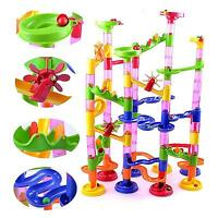 105pcs Marble Run Race Set Construction Building Blocks Toy Game Track Xmas Gift