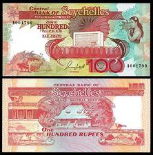 Seychelles 100 RUPEES ND 1989 P 35 UNC Serie A