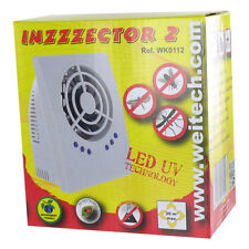 Weitech Inzzzector 2 - LED Elimina insectos Trampas para mosquitos