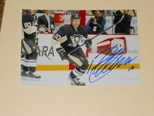 Pittsburgh Penguins BRENDEN MORROW Signed 4x6 Photo NHL AUTOGRAPH