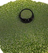 3ml Glitter 0,2mm, Hell Grün, Glitterstaub, Puder in Acryl Dose, Nr. 801-063-a