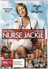 Nurse Jackie : Season 3 (DVD, 3-Disc Set) NEW