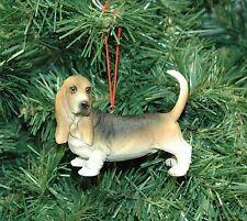 Basset Hound Dog Christmas Ornament