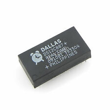 100pcs DS12C887 IC Real Time Clock Dallas Semiconductor IC 18-Pin