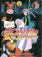 MANGA DVD Lupin 3° Il Castello di Cagliostro 2 dvd raro