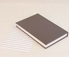 "4""x 6.25"" Unlined Refill Book for Oberon Design Small Leather Journal or Any Use"
