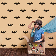 Bats Home Decor Boys Bedroom Art Decal Superhero Symbol Nursery DIY Sticker