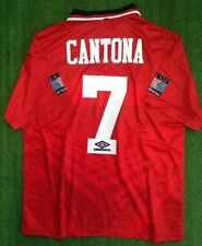 MANCHESTER UNITED RETRO SHIRT 1996 FA CUP FINAL, CANTONA, GIGGS, Size M XL