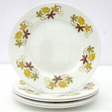 Vintage Colclough Bone China Set 5 Tea Plates Leaves