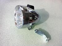 7 LED Head Light Vintage RETRO Cruiser Bike Fixie City Bicycle Front Light