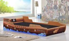 Children's Adventure Caribbean Pirate Ship Bed Single 3 FT 90 cm