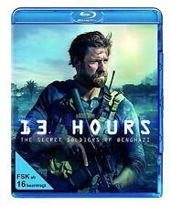 13 HOURS: THE SECRET SOLDIERS OF BENGHAZ (John Krasinski) BLU-RAY NEU