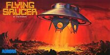 Aurora Flying Saucer Of The Invaders UFO Sticker or Magnet