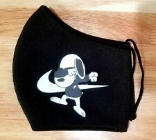 Nike snoopy face mask adults handmade  reusable