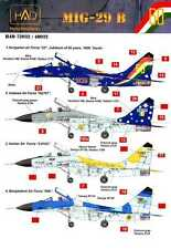 Hungarian Aero Decals 1/48 MIKOYAN MiG-29 in International Service
