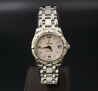 "Concord Saratoga SL Yellow Gold 18k SS Diamond Ladies Watch 6.25"" 16-36-275 W309"