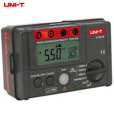UT501A Insulation Tester Megohmmeter Tester Auto Discharge Auto Power Off Unit