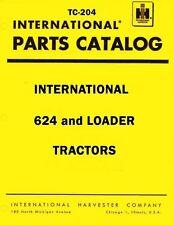 International Harvester 624 Tractor Loader Chassis Parts Catalog Manual IH