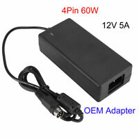 4PIN 60W 12V 5A Laptop Adapter Power Supply Cable Cord Charger For AUSU Laptop🔥