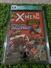 X-MEN # 12 CGC 5.0 (Q) FIRST JUGGERNAUT ORIGIN PROF X OW/W 1965