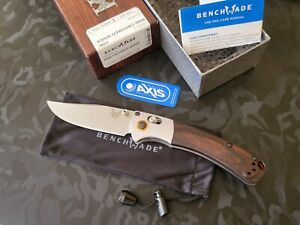 Benchmade 15085-2 Mini Crooked River CPM-S30V Stabilized Wood(Brand New In Box)