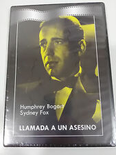 LLAMADA A UN ASESINO DVD SLIM HUMPPHREY BOGART ESPAÑOL ENGLISH NEW NUEVO
