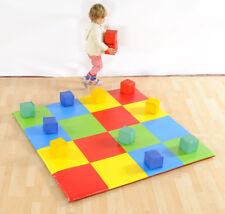 Soft Play Patchwork Mat & soft block set