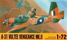 VULTEE A31 VENGEANCE Mk II (RAF, USAAF & AUSTRALIAN/RAAF MARKINGS) 1/72 GOMIX