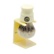 Frank Shaving Extra Density Silvertip Badger Hair Shaving Brush Chubby Handle