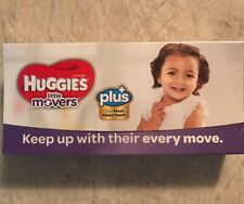 HUGGIES Little Movers Diapers Size 4 22-37 Lbs. Trial Travel Pack 3 Count