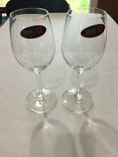 """Set of 2 Riedel Wine Glasses 8"""" White Wine ~12 oz NEW with Sticker Intact Stem"""