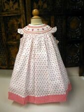 NWT Will'Beth Precious Angel Sleeve Polka Dot Bishop 18M