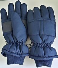 The Glove Thinsulate Insulation 40 Gram Blue Winter Gloves One Size Fits Most