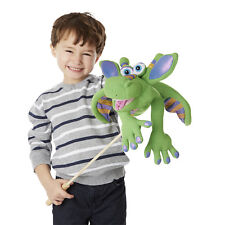 SMOULDER the  DRAGON ~ HAND PUPPET ~ Melissa & Doug #3908 Free Shipping/USA