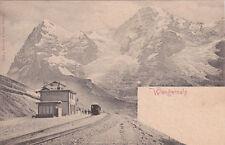 * SWITZERLAND - Wengernalp - Bahnhof
